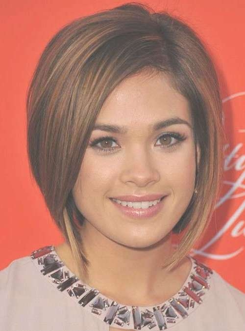25 Short Bobs For Round Faces | Bob Hairstyles 2017 – Short Inside Bob Haircuts For Round Face (View 3 of 15)