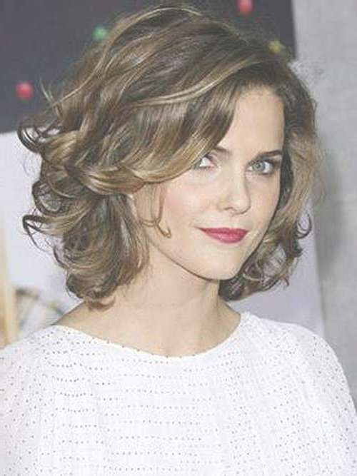 25 Short Haircuts For Curly Wavy Hair | Short Hairstyles Throughout Curly Long Bob Haircuts (View 5 of 15)