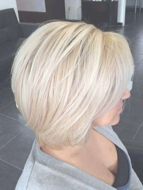 25+ Short Layered Bob Hairstyles | Bob Hairstyles 2017 – Short Inside Blonde Layered Bob Hairstyles (View 10 of 15)