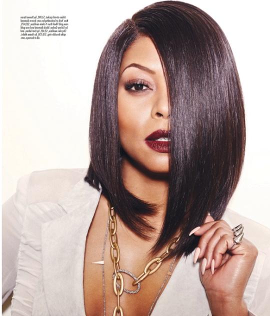 25 Stunning Bob Hairstyles For Black Women Inside Bob Haircuts On Black Women (View 9 of 15)
