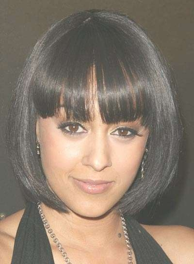 Featured Photo of Bob Hairstyles With Bangs For Black Women