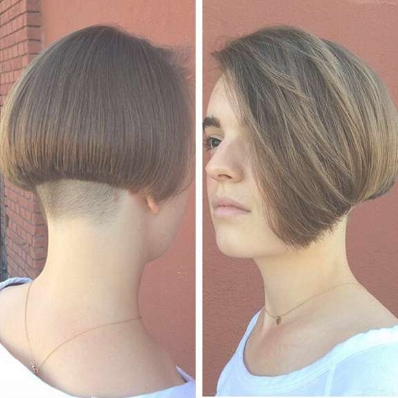 25 Stylish Bob Hairstyles With Bangs –Style & Colour In Perfect Within Bob Haircuts With Undercut (View 9 of 15)
