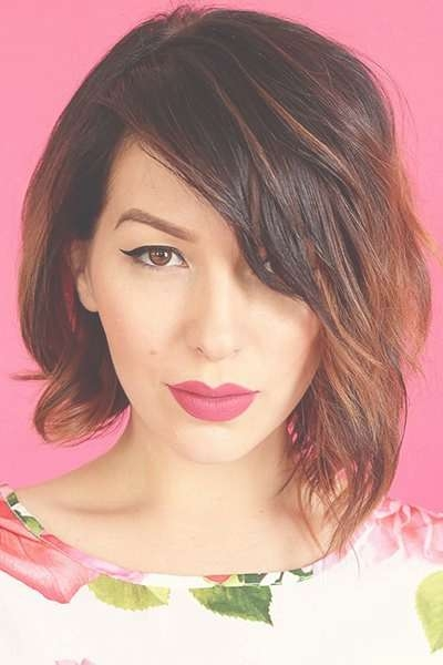 26 Cool Asymmetrical Bob Hairstyles | Styles Weekly Throughout Asymmetrical Bob Haircuts (View 6 of 15)