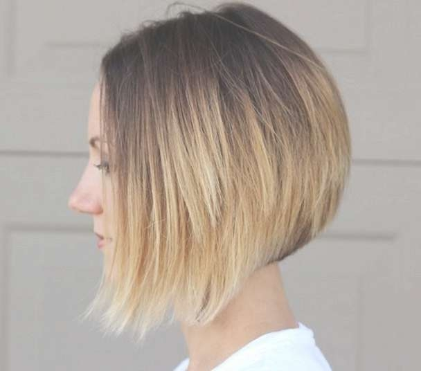 26 Popular Ombre Bob Hairstyles – Ombre Hair Color Ideas – Pretty Inside Bob Haircuts With Ombre Highlights (View 8 of 15)