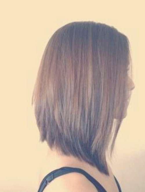 27 Beautiful Long Bob Hairstyles: Shoulder Length Hair Cuts With Extra Long Bob Haircuts (View 6 of 15)