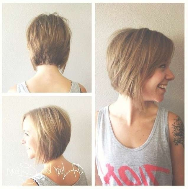 28 Cute Short Hairstyles Ideas – Popular Haircuts Within Front And Back Views Of Bob Hairstyles (View 6 of 15)