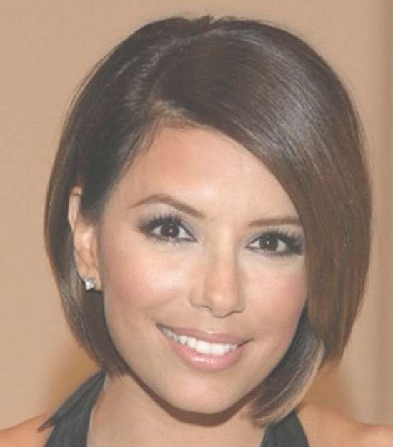 29 Cute Bob Hairstyles For Round Faces Inside Bob Hairstyles Round Faces (View 9 of 15)