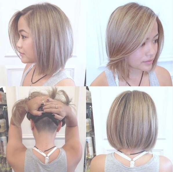 30 Awesome Undercut Hairstyles For Girls 2017 – Hairstyle Ideas In Bob Haircuts With Undercut (View 2 of 15)