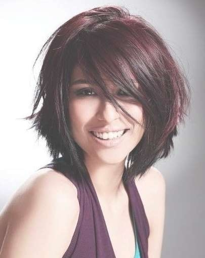 30 Best Bob Hairstyles For Short Hair – Popular Haircuts Within Layered Bob Haircuts For Long Faces (View 2 of 15)