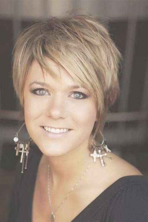 30 Best Short Haircuts For Women Over 40   Short Hairstyles 2016 With Short Bob Haircuts For Women Over (View 6 of 15)