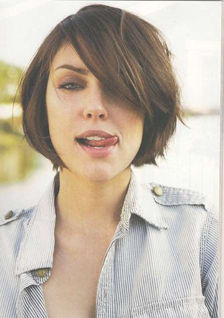 30 Best Short Hairstyles For Round Faces | Short Hairstyles 2016 Intended For Short Bob Haircuts For Round Faces (View 15 of 15)
