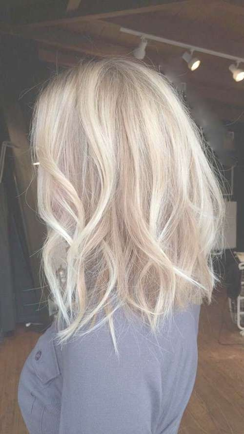 30+ Blonde Long Bob Hair | Bob Hairstyles 2017 – Short Hairstyles Within Long Blonde Bob Hairstyles (View 6 of 15)