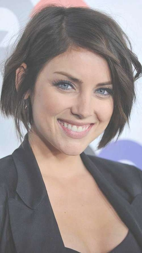 Showing Gallery Of Brunette Bob Haircuts View 9 Of 15 Photos