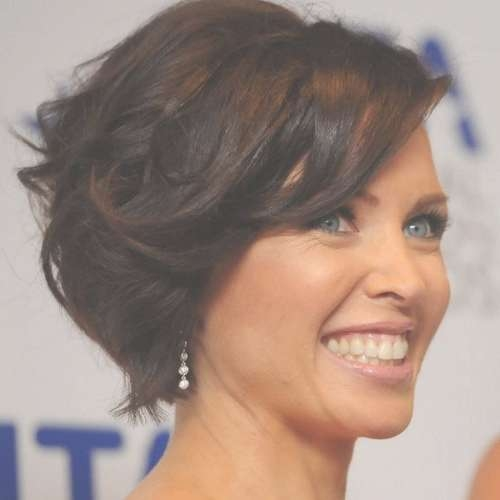 30 Easy Short Hairstyles For Thick Wavy Hair – Cool & Trendy Short In Bob Haircuts For Thick Wavy Hair (View 8 of 15)