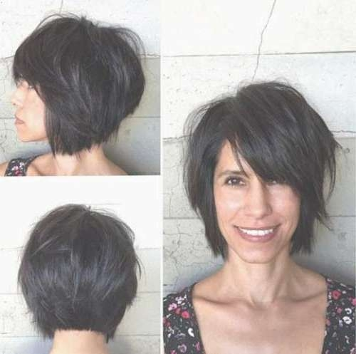 30 Latest Bob Hairstyles | Bob Hairstyles 2017 – Short Hairstyles For Short Dark Bob Hairstyles (View 14 of 15)