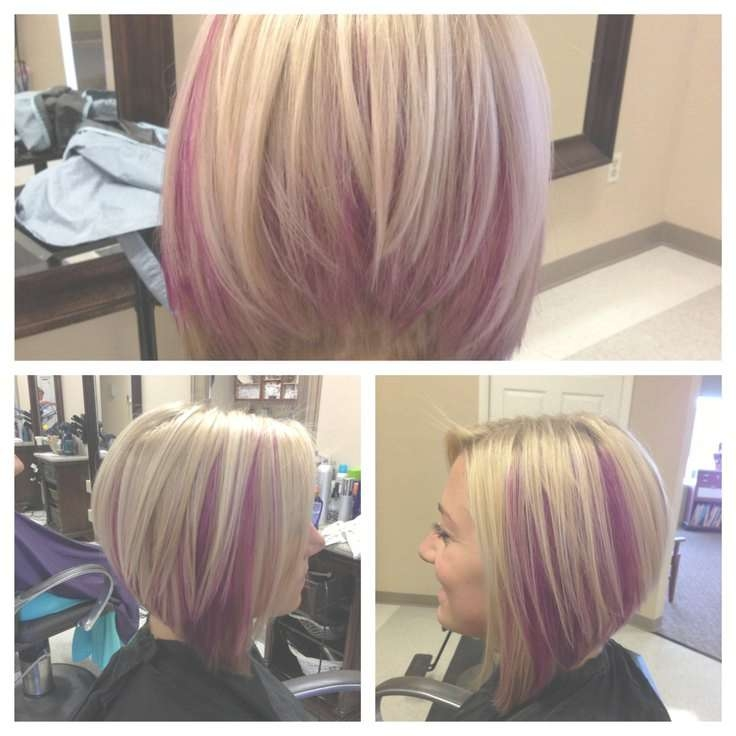 30 Must Try Medium Bob Hairstyles – Popular Haircuts Within Blonde Highlights For Bob Haircuts (View 15 of 15)