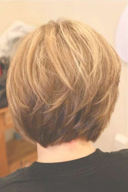 30 Popular Stacked A Line Bob Hairstyles For Women | Styles Weekly In Back View Layered Bob Haircuts (View 4 of 15)