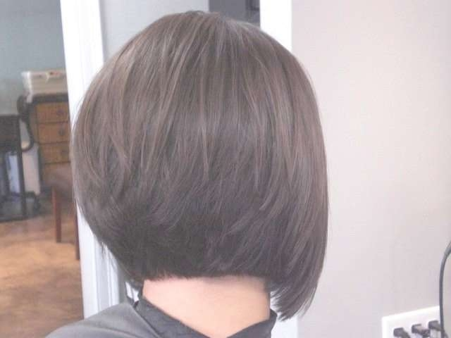 30 Popular Stacked A Line Bob Hairstyles For Women | Styles Weekly With Back View Of Bob Haircuts (View 7 of 15)