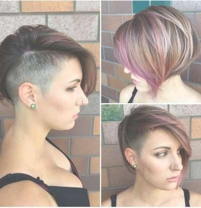 30 Stacked Bob Haircuts For Sophisticated Short Haired Women Intended For Bob Haircuts With Undercut (View 14 of 15)