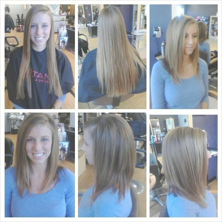 31 Best Hairstyles Images On Pinterest | Hairstyles, Long Bob Intended For Very Long Bob Haircuts (View 12 of 15)