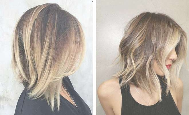 31 Best Shoulder Length Bob Hairstyles | Stayglam Pertaining To Med Length Bob Haircuts (View 9 of 15)