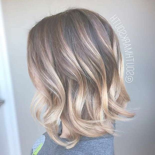 31 Best Shoulder Length Bob Hairstyles | Stayglam Within Medium Length Bob Haircuts (View 8 of 15)