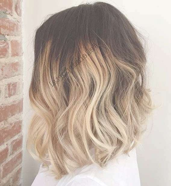 31 Best Shoulder Length Bob Hairstyles | Stayglam Within Medium Length Bob Haircuts (View 11 of 15)
