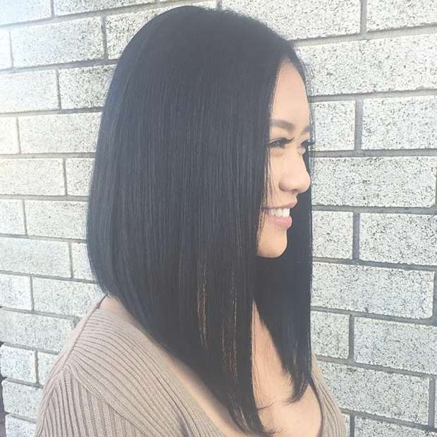 31 Gorgeous Long Bob Hairstyles | Stayglam Pertaining To Long Bob Hairstyles (View 11 of 15)