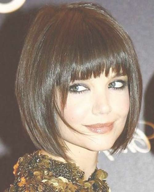 33 Lovely Short Bob Hairstyles With Bangs – Cool & Trendy Short Intended For Bob Haircuts With Bangs For Thick Hair (View 10 of 15)
