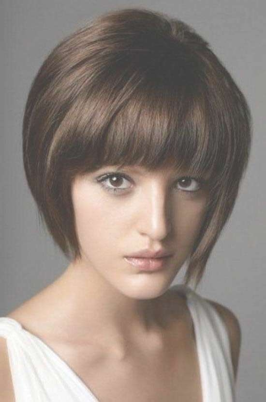 35 Awesome Bob Haircuts With Bangs – Makes You Truly Stylish In Bob Haircuts With Bangs (View 7 of 15)