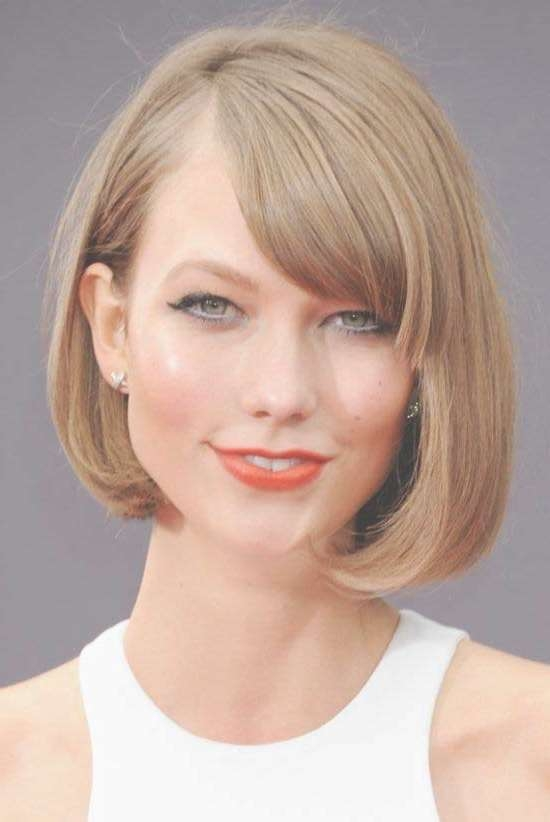 35 Awesome Bob Haircuts With Bangs – Makes You Truly Stylish Intended For Bob Haircuts With Side Bangs (View 4 of 15)