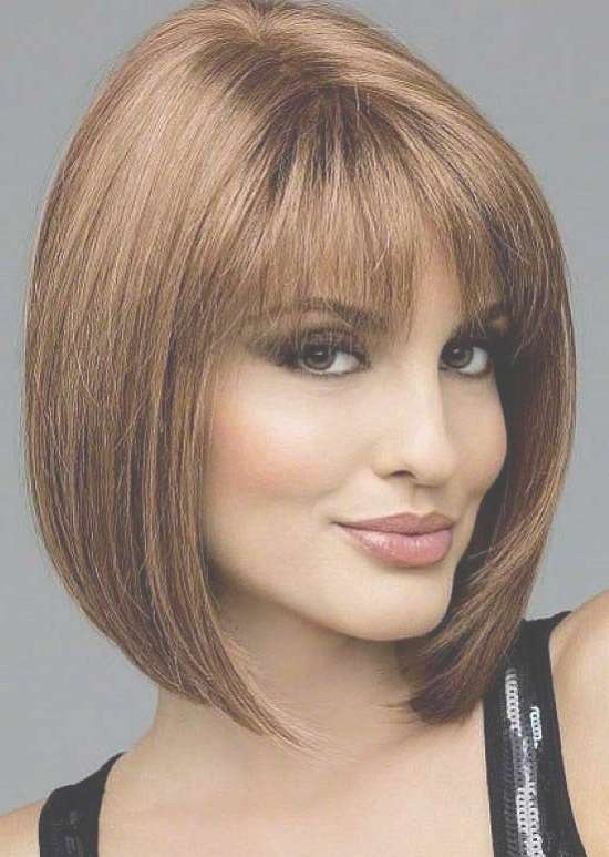35 Awesome Bob Haircuts With Bangs – Makes You Truly Stylish Intended For Medium Bob Hairstyles With Bangs (View 3 of 15)
