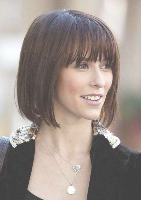 35 Awesome Bob Haircuts With Bangs – Makes You Truly Stylish Pertaining To Short Dark Bob Hairstyles (View 9 of 15)