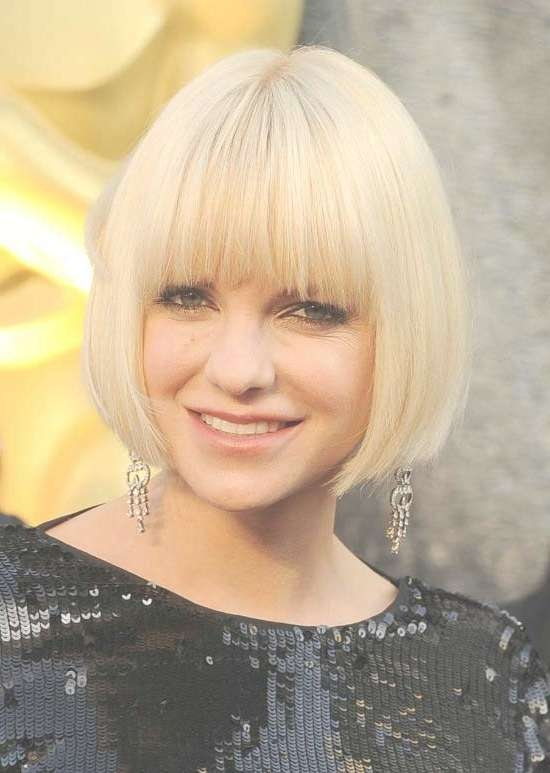 35 Awesome Bob Haircuts With Bangs – Makes You Truly Stylish Regarding Bob Haircuts With Bangs (View 13 of 15)