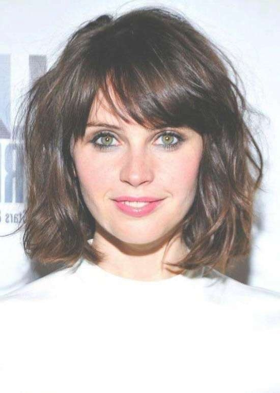 35 Awesome Bob Haircuts With Bangs – Makes You Truly Stylish With Curly Bob Haircuts With Bangs (View 14 of 15)