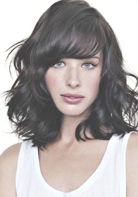 35 Awesome Bob Haircuts With Bangs – Makes You Truly Stylish With Curly Bob Haircuts With Bangs (View 4 of 15)