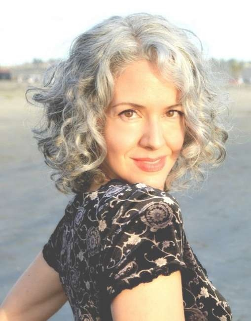 35 Pretty Hairstyles For Women Over 50: Shake Up Your Image & Come Intended For Medium Curly Bob Haircuts (View 13 of 15)