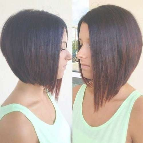 35 Short Stacked Bob Hairstyles   Short Hairstyles 2016 – 2017 Pertaining To Swing Bob Haircuts (View 8 of 15)