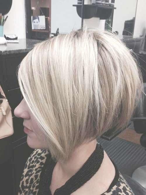 35 Short Stacked Bob Hairstyles | Short Hairstyles 2016 – 2017 Regarding Cute Swing Bob Haircuts (View 11 of 15)