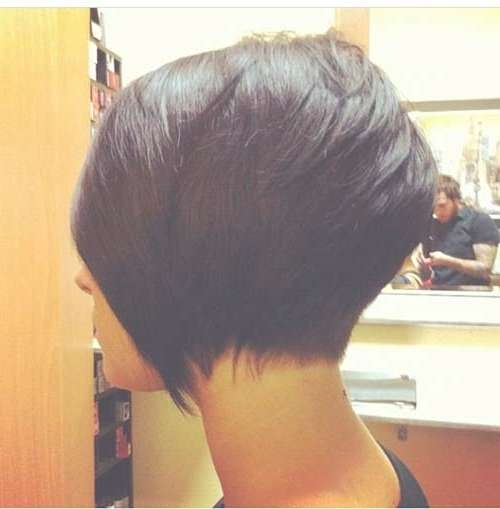 35 Short Stacked Bob Hairstyles | Short Hairstyles 2016 – 2017 With Layered Bob Haircuts For Black Hair (View 15 of 15)