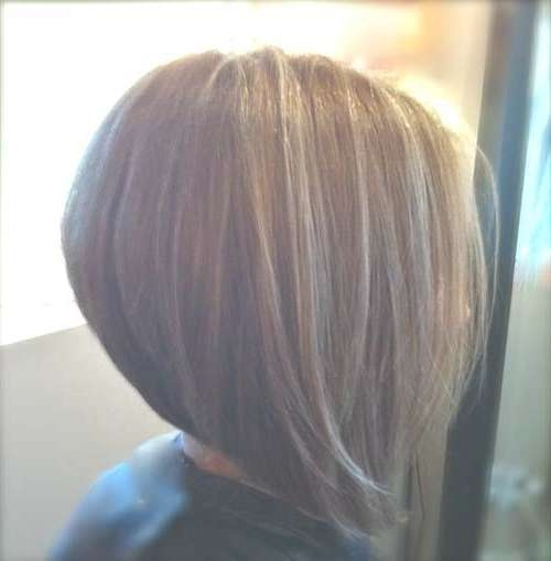 35 Short Stacked Bob Hairstyles | Short Hairstyles 2016 – 2017 Within Cute Swing Bob Haircuts (View 10 of 15)