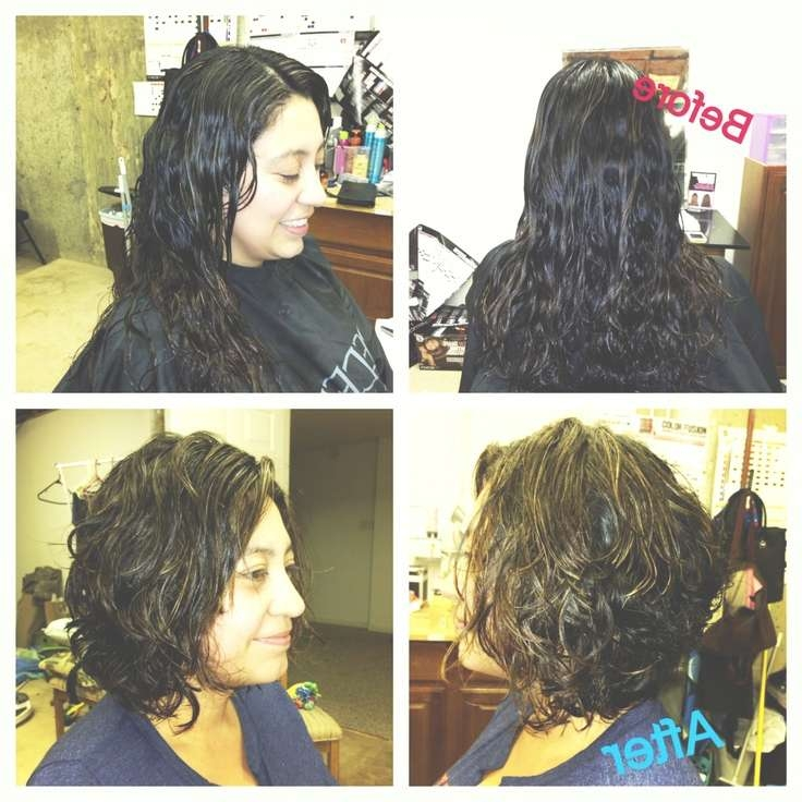 37 Best Hair Ideas Images On Pinterest   Boyfriends, Beautiful And With Stacked Bob Haircuts For Curly Hair (View 15 of 15)