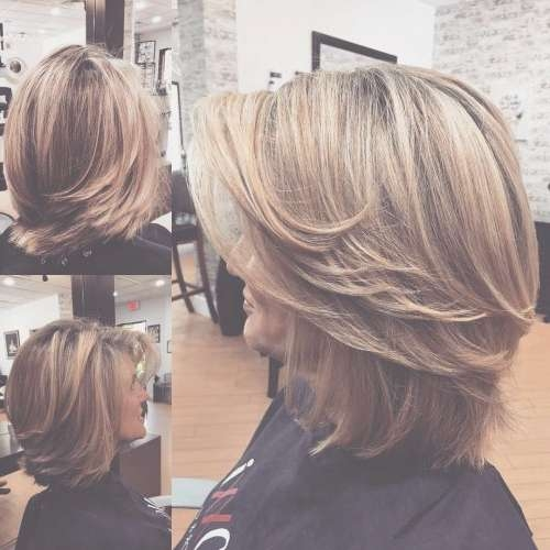 38 Chic Short Hairstyles For Women Over 50 Within Bob Haircuts For Over (View 11 of 15)