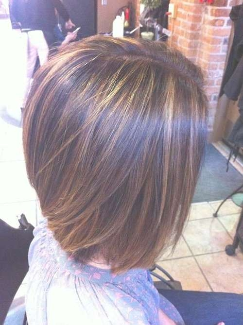 40 Best Bob Hair Color Ideas | Bob Hairstyles 2017 – Short For Bob Hairstyles With Highlights (View 8 of 15)