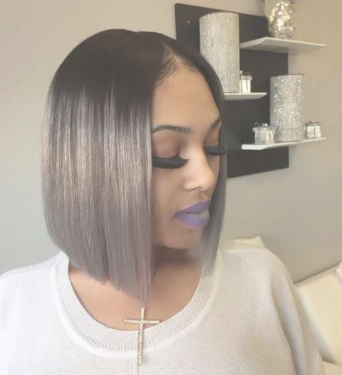 40 Bob Hairstyles For Black Women 2017 | Herinterest/ Intended For Bob Haircuts For Black Women (View 4 of 15)
