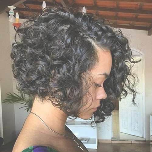 Featured Photo of Natural Curly Bob Hairstyles