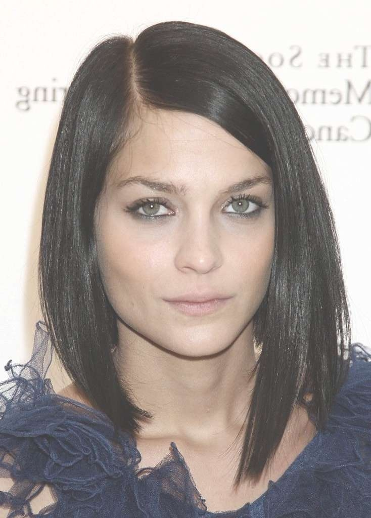 42 Best Hair Cut Ideas May Images On Pinterest   Boyfriends Intended For Dark Hair Bob Haircuts (View 15 of 15)