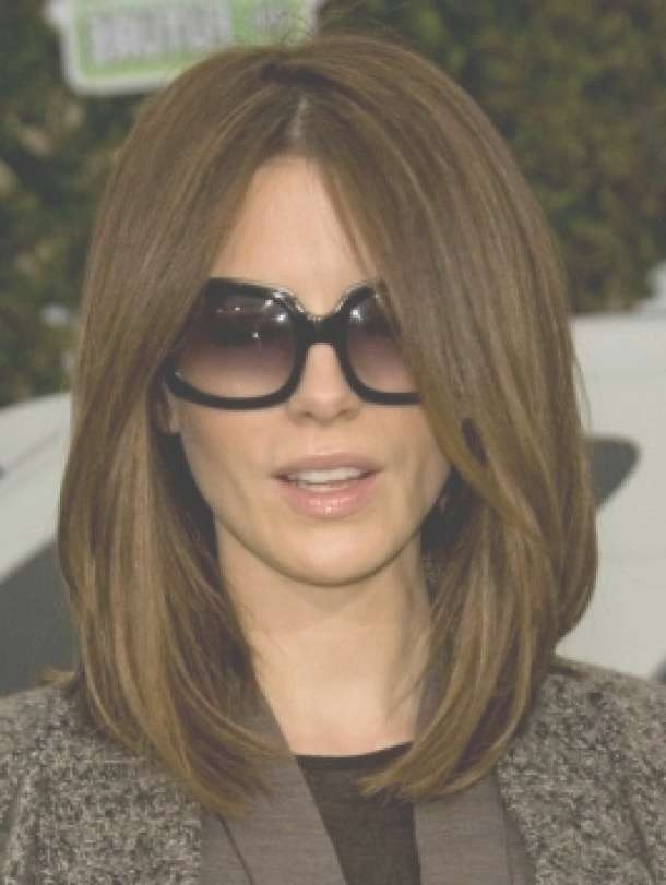 Photo Gallery Of Kate Beckinsale Bob Haircuts Showing 10 Of 15 Photos