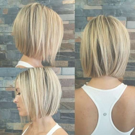 45 Trendy Short Hair Cuts For Women 2018 – Popular Short Hairstyle In Neck Length Bob Hairstyles (View 7 of 15)