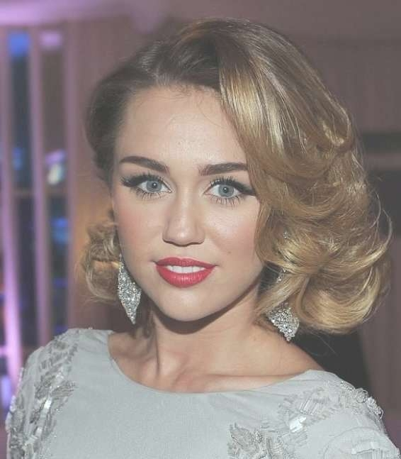 46 Best Short Hair Images On Pinterest | Makeup, Artists And Braids In Miley Cyrus Bob Haircuts (View 12 of 15)